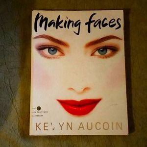 3x$20. BOOK Making Faces by Kevin Aucoin